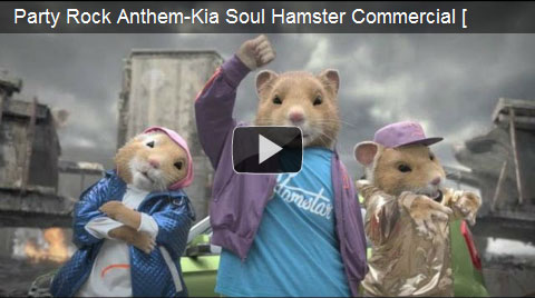Kia and its hamsters are at it again…