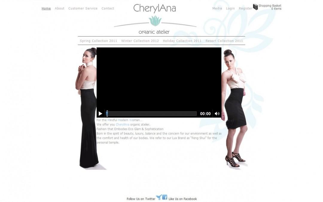 Website Launch: CherylAna