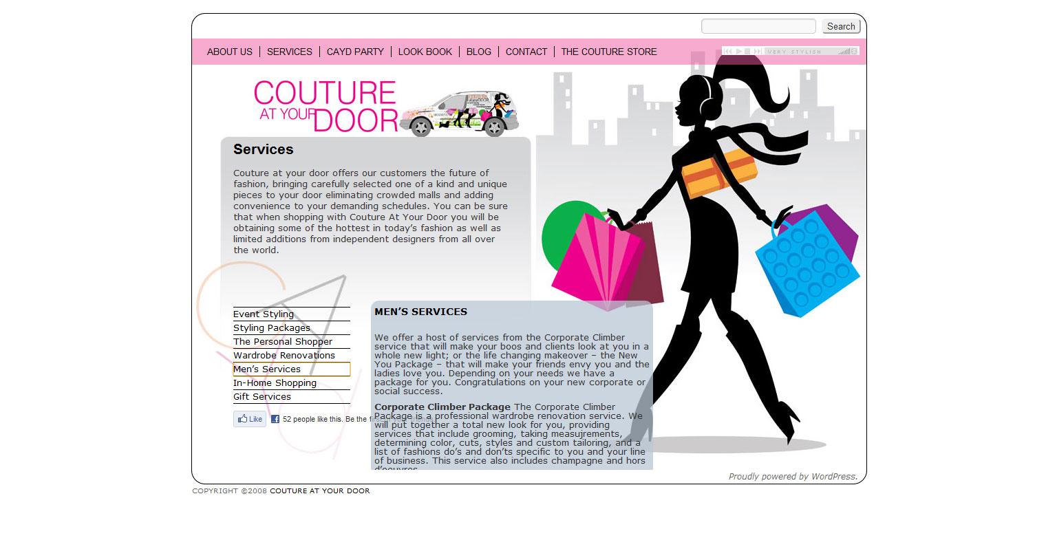 Website Migration: Couture At Your Door
