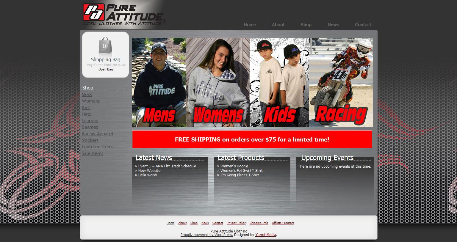 Website Migration: Pure Attitude