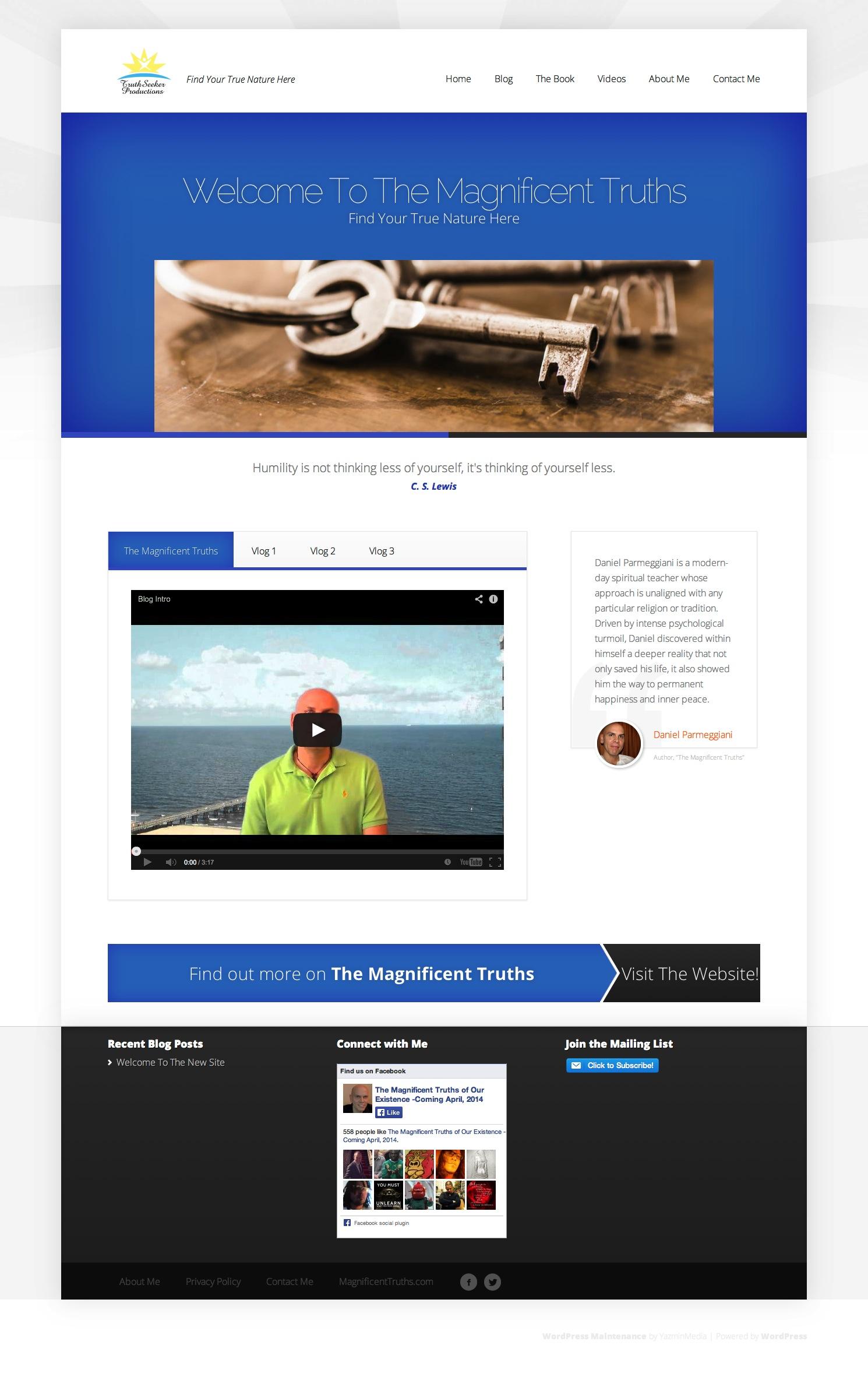 Website Launch: Daniel Parmeggiani