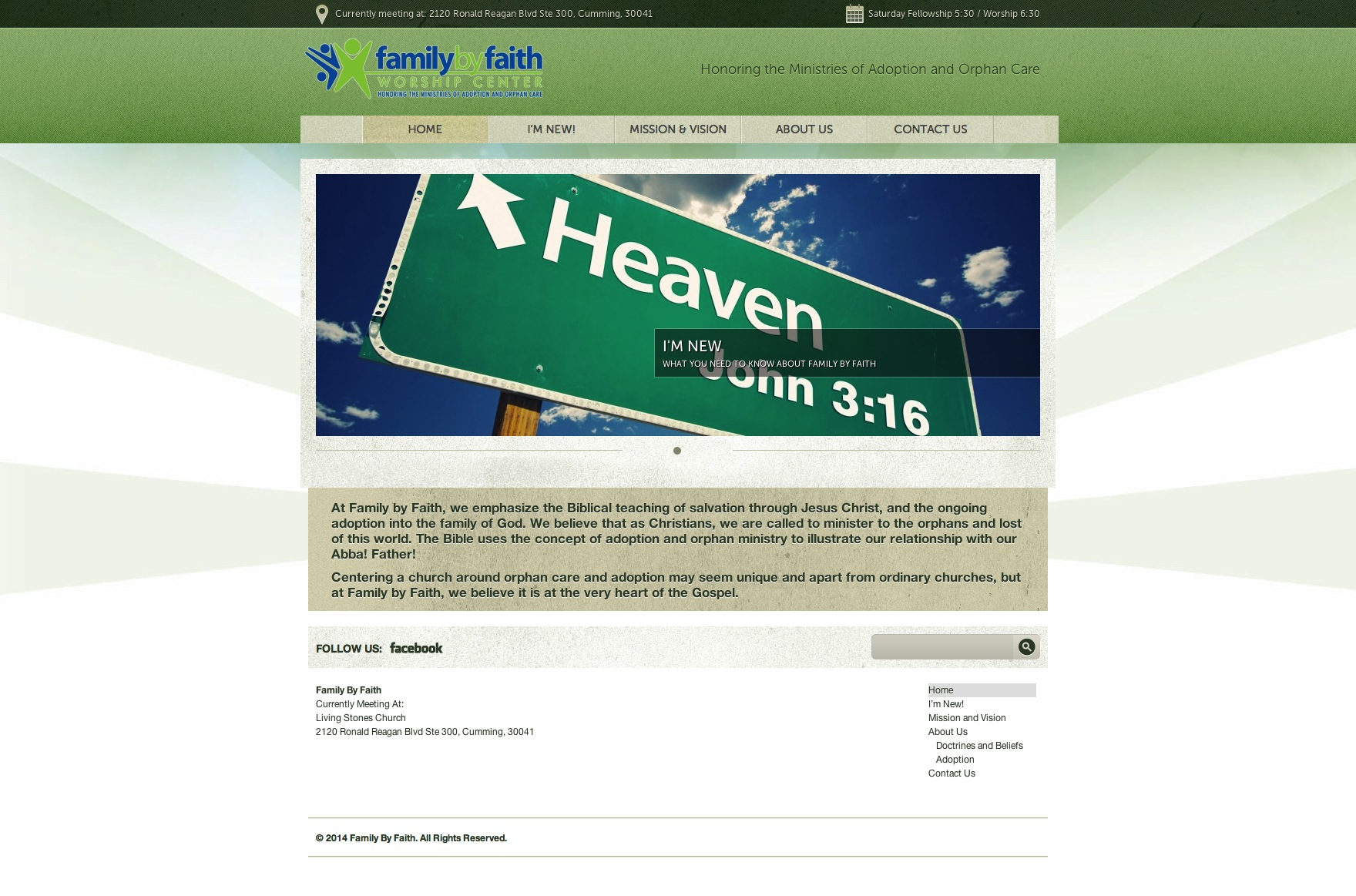Website Launch: Family By Faith Worship Center