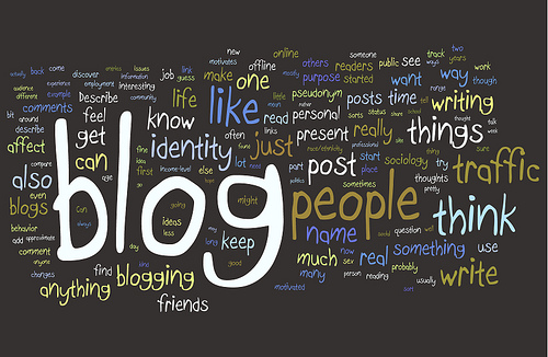 I blog because __________?