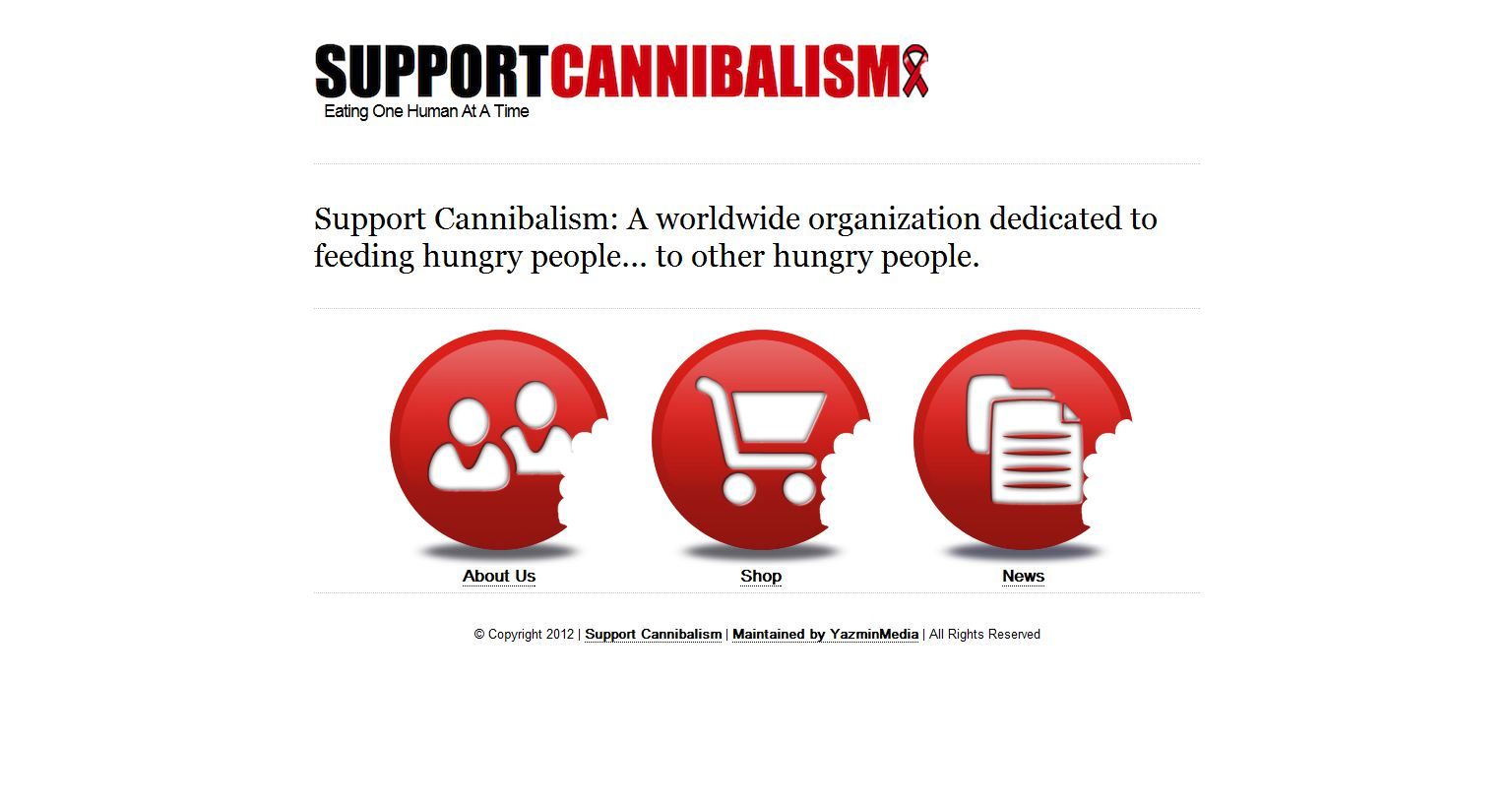 Website Launch: Support Cannibalism
