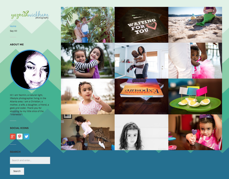 Website Launch: Yazmin Wickham Photography